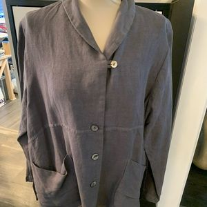 Designer Linen Top